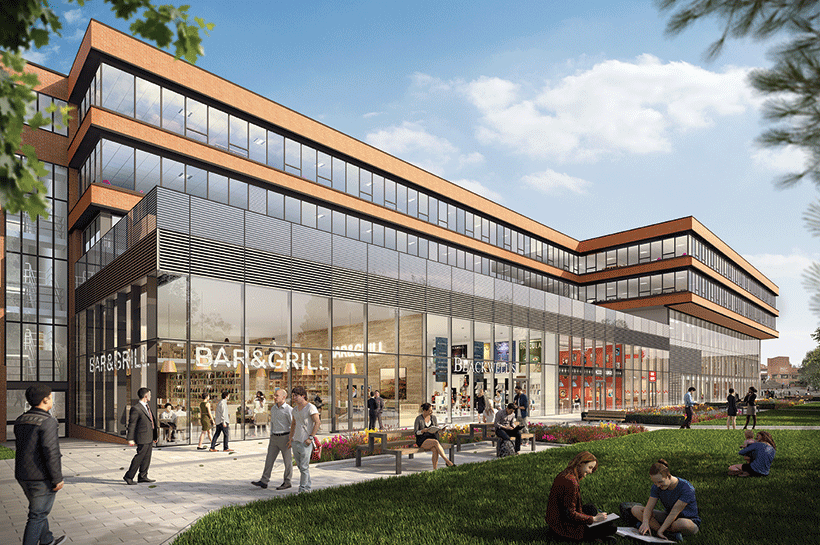 AMBS retail view artist impression