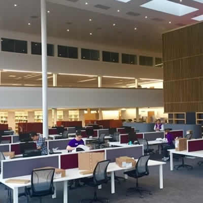 Second Semester, electives and our new AMBS building - Library