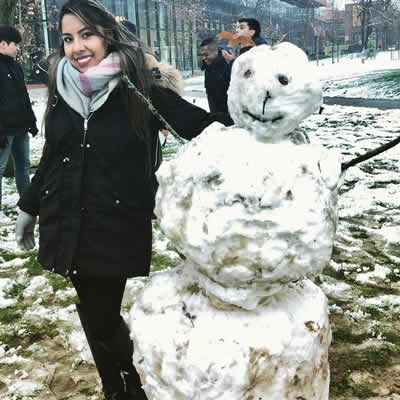 Second Semester, electives and our new AMBS building - Snowman