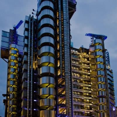 The great help of the postgraduate careers service - Lloyds of London