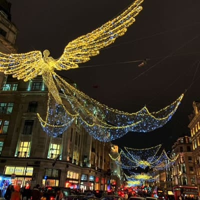 Christmas and New Years in UK - London