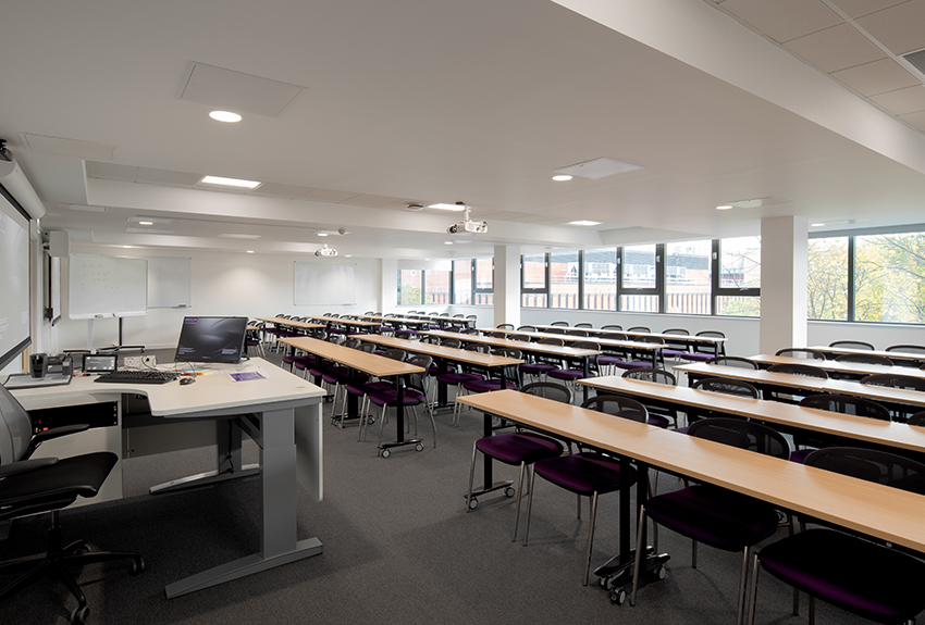 Large teaching room at Alliance MBS