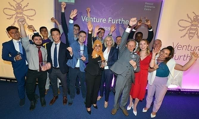 Venture Further 2019 business start-up competition winners