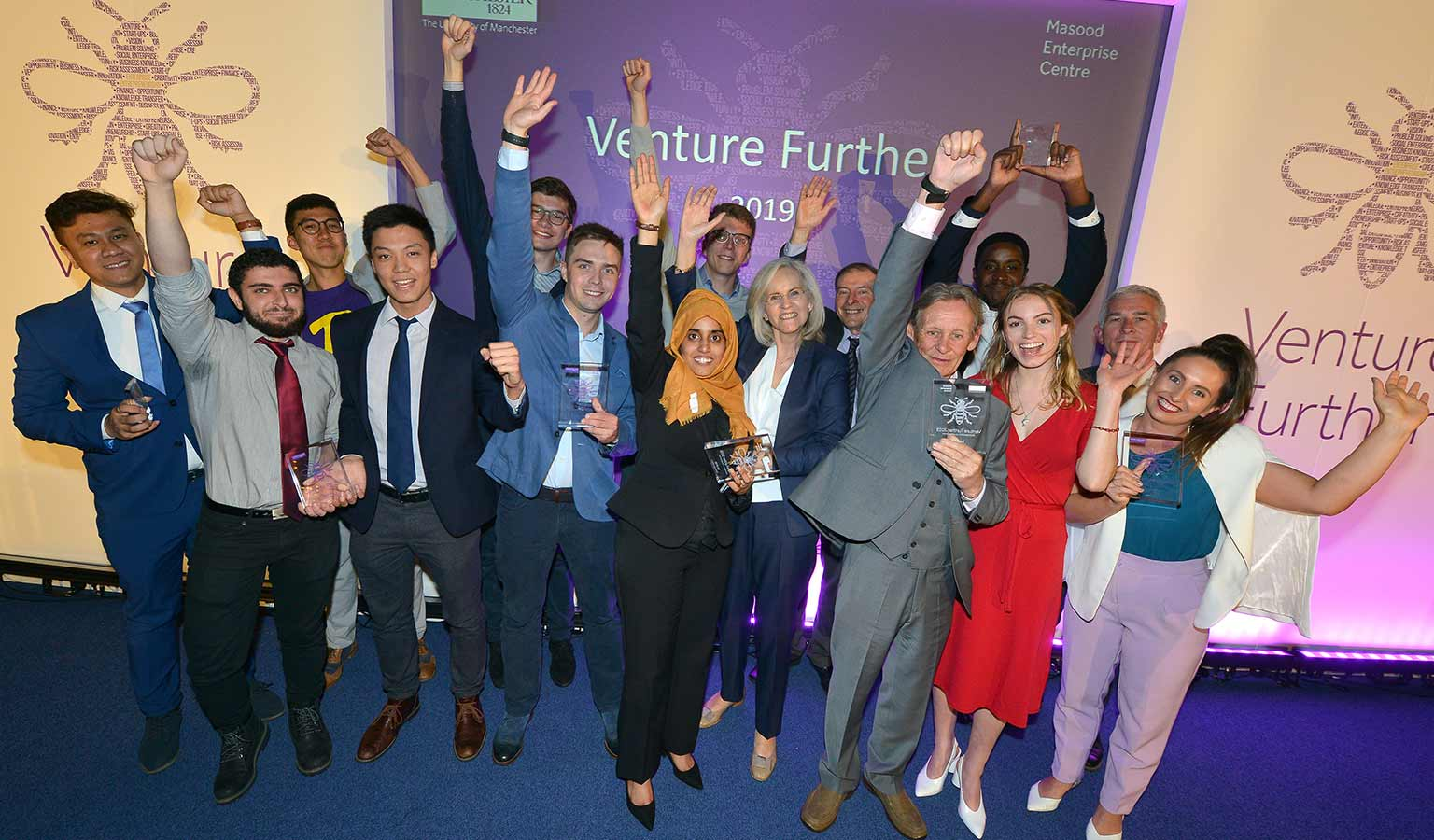 Venture Further 2019 winners