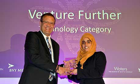Venture Further 2019 winner Beenish Siddique