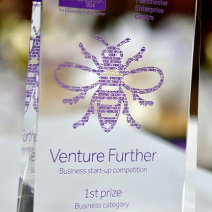 Venture Further Business Start-up Competition discovery block