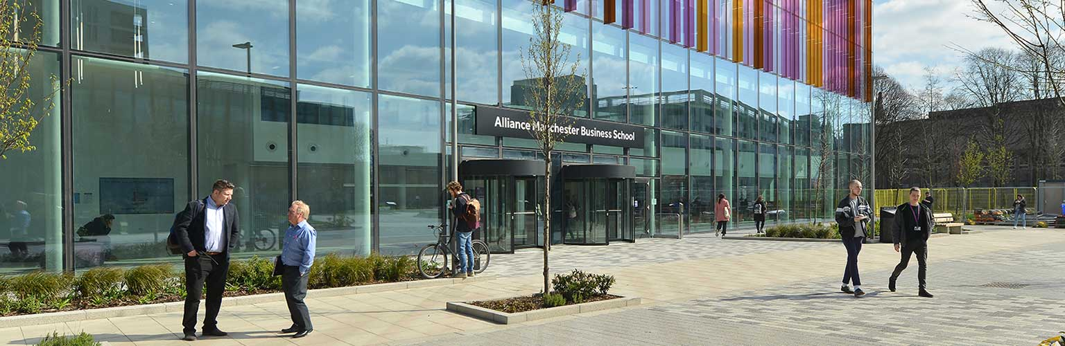 Alliance Manchester Business School building