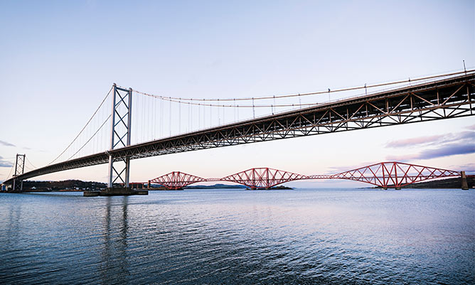 forth bridge infrastructure and construction