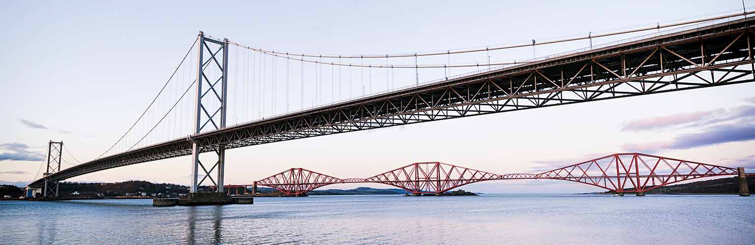forth bridge construction and infrastructure
