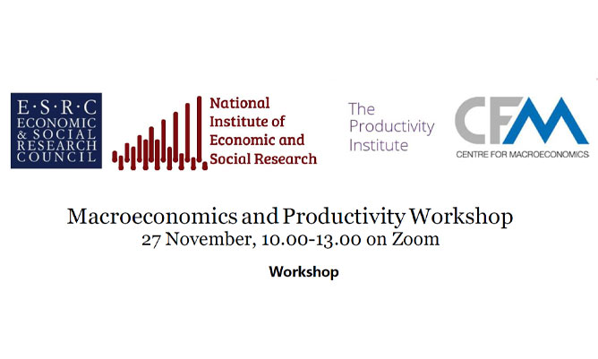 Macroeconomics and Productivity Workshop