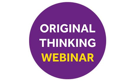 Original Thinking Webinar - Anthony Rafferty