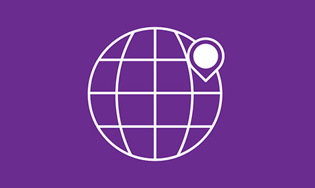 Purple international event - Listing