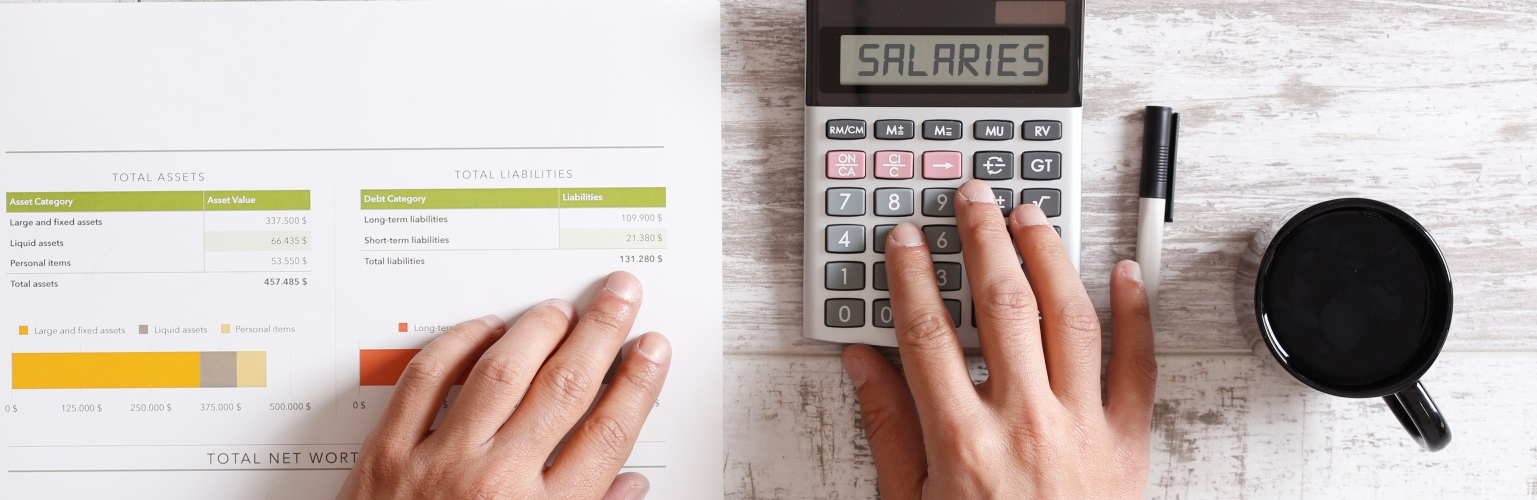 Salaries wages calculator