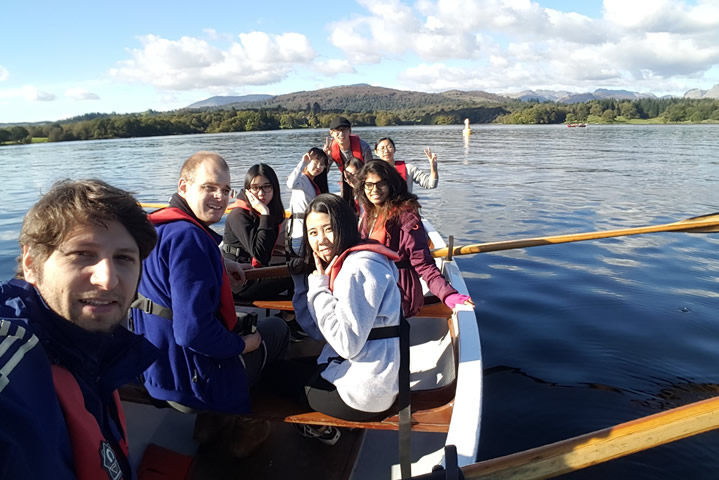 Brathay teamwork session