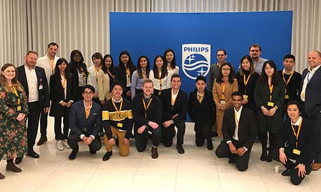 MSc BASM Philips visit 2019