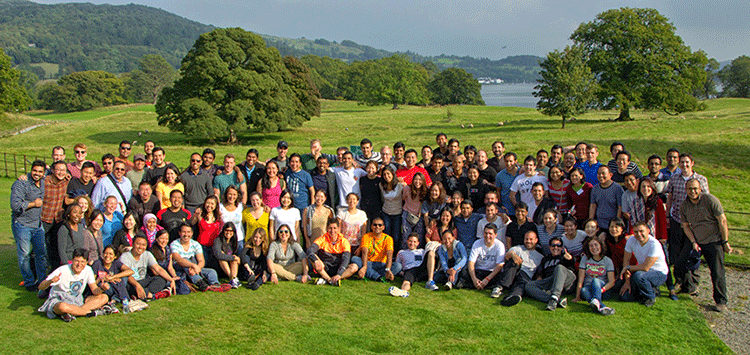 MBA class at Brathay
