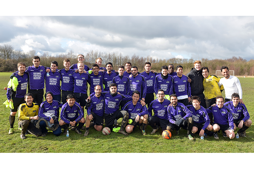 MBA football team