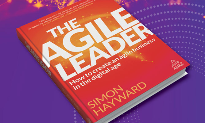 agile leader book launch