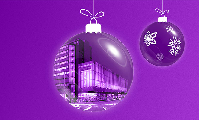 Alliance Manchester Business School festive greeting