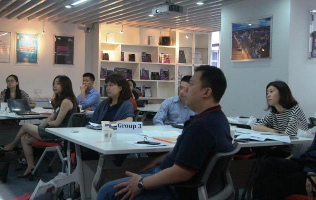 Students at the China Centre Global MBA induction