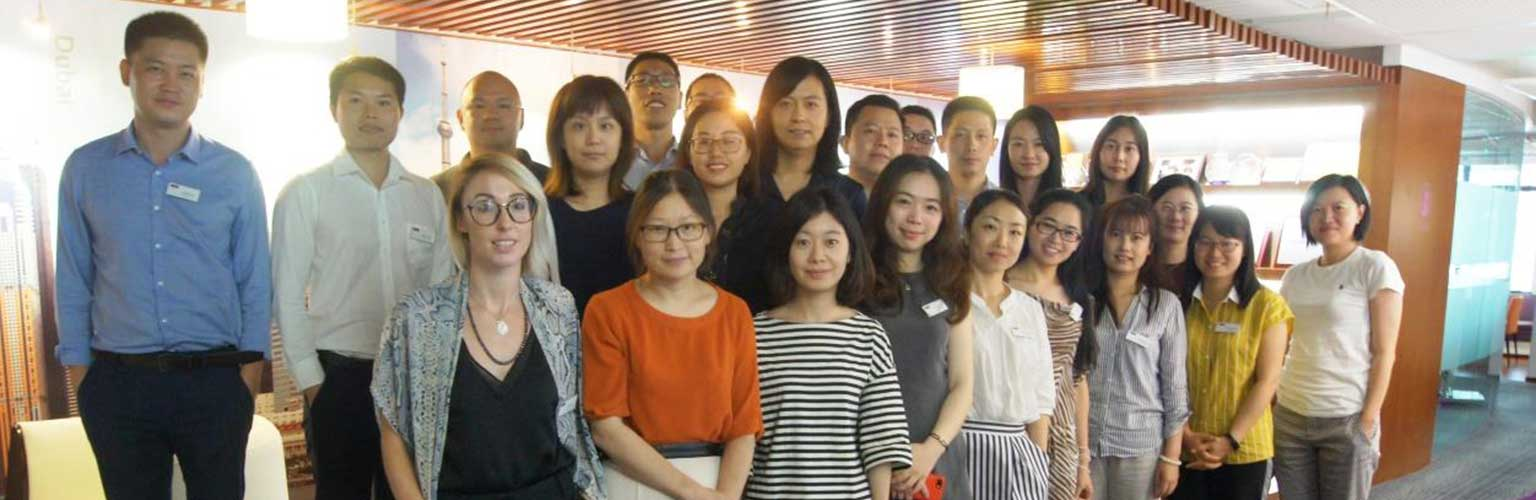 Students at China Centre Global MBA induction