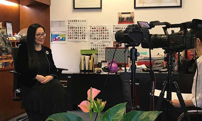 Interview with China Centre Director Sherry Fu