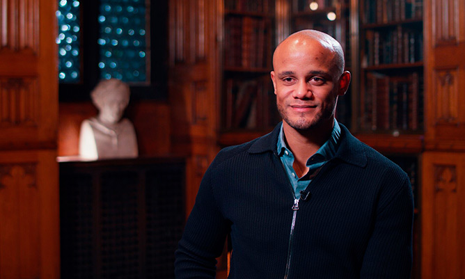 vincent kompany footballer graduates with global part time mba degree