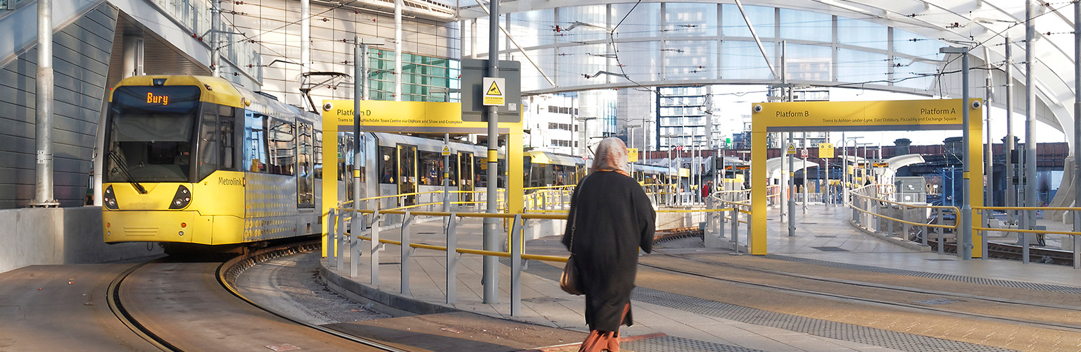 Sustainable Consumption Institute metrolink public transport Manchester