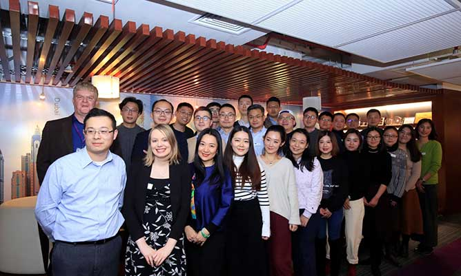 MBA students in China
