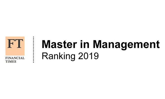 FT ranking Master in Management logo