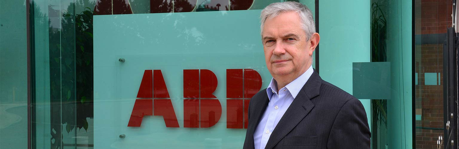 ian funnell chief executive of ABB