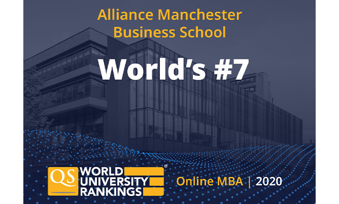 qs world university rankings for alliance manchester business school