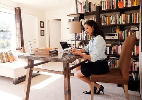 The seven rules of home working