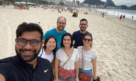 photograph of mba team in brazil