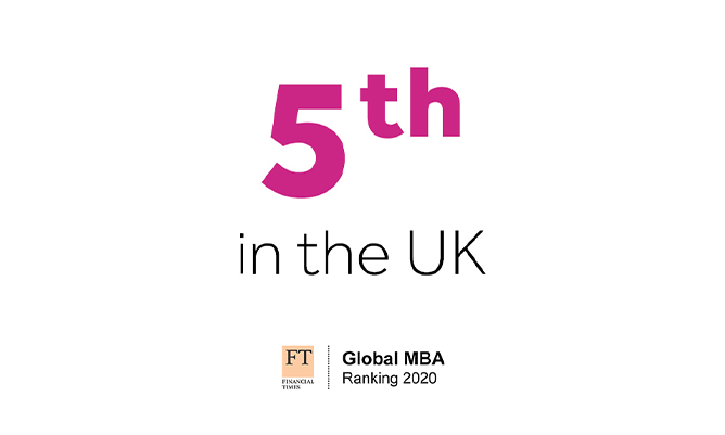 Financial Times MBA ranking for Alliance Manchester Business School