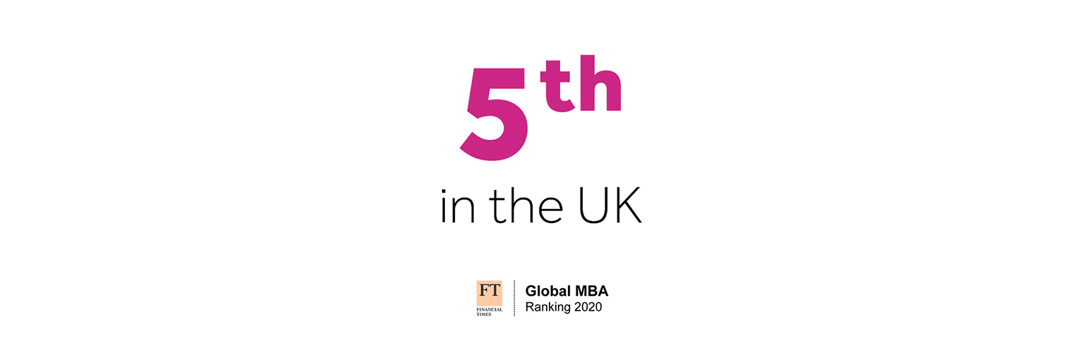 Financial Times MBA rankings for Alliance Manchester Business School