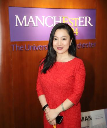 Ms Sherry Fu, Director of the University of Manchester China Centre
