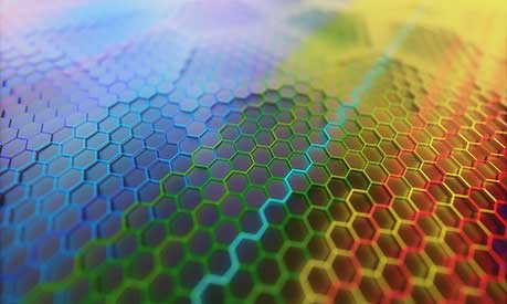 Sheet of graphene