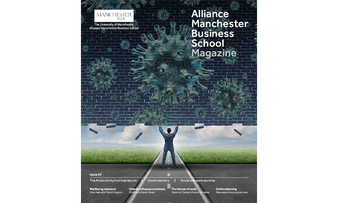 the front cover of issue 7 of the ambs magazine