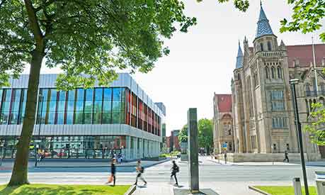 Alan Gilbert Learning Commons and Whitworth Hall