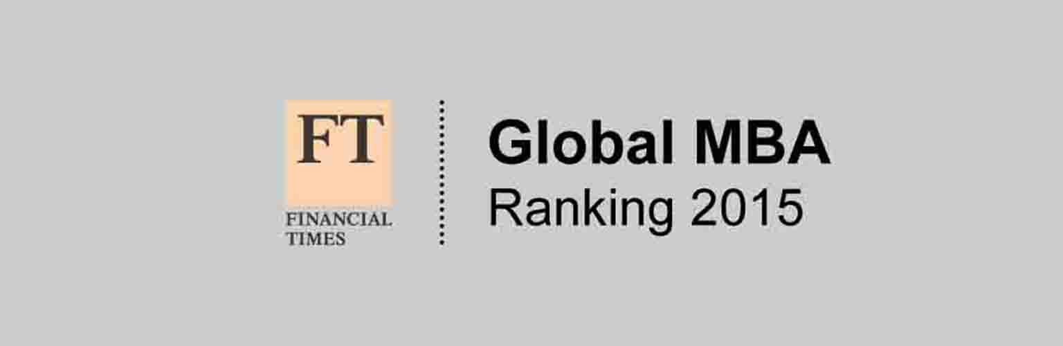 Financial Times Global MBA Ranking 2015
