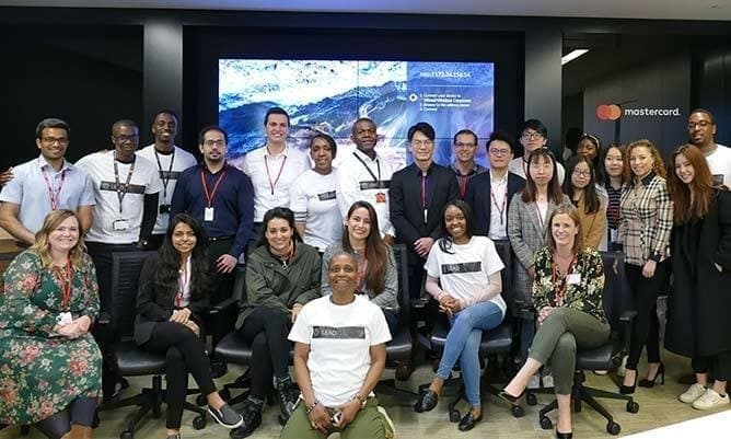 MSc Business Analysis and Strategic Management Mastercard visit 2019