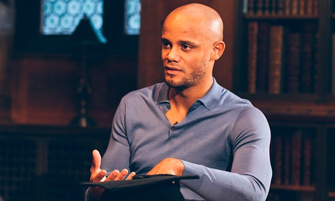 Vincent Kompany graduate from Alliance Manchester Business School