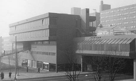A picture of Alliance Manchester Business School from 1971