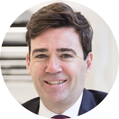 Andy Burnham May of Greater Manchester