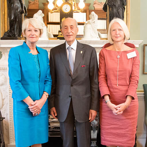 Lord Alliance, Nancy Rothwell and Fiona Devine