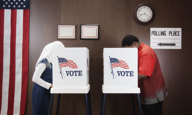 Manifestations of Political Uncertainty around US Presidential Elections